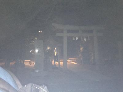 万九千神社の鳥居