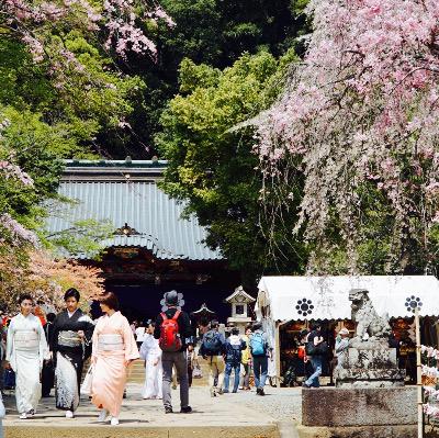 伊豆山神社のお祭り