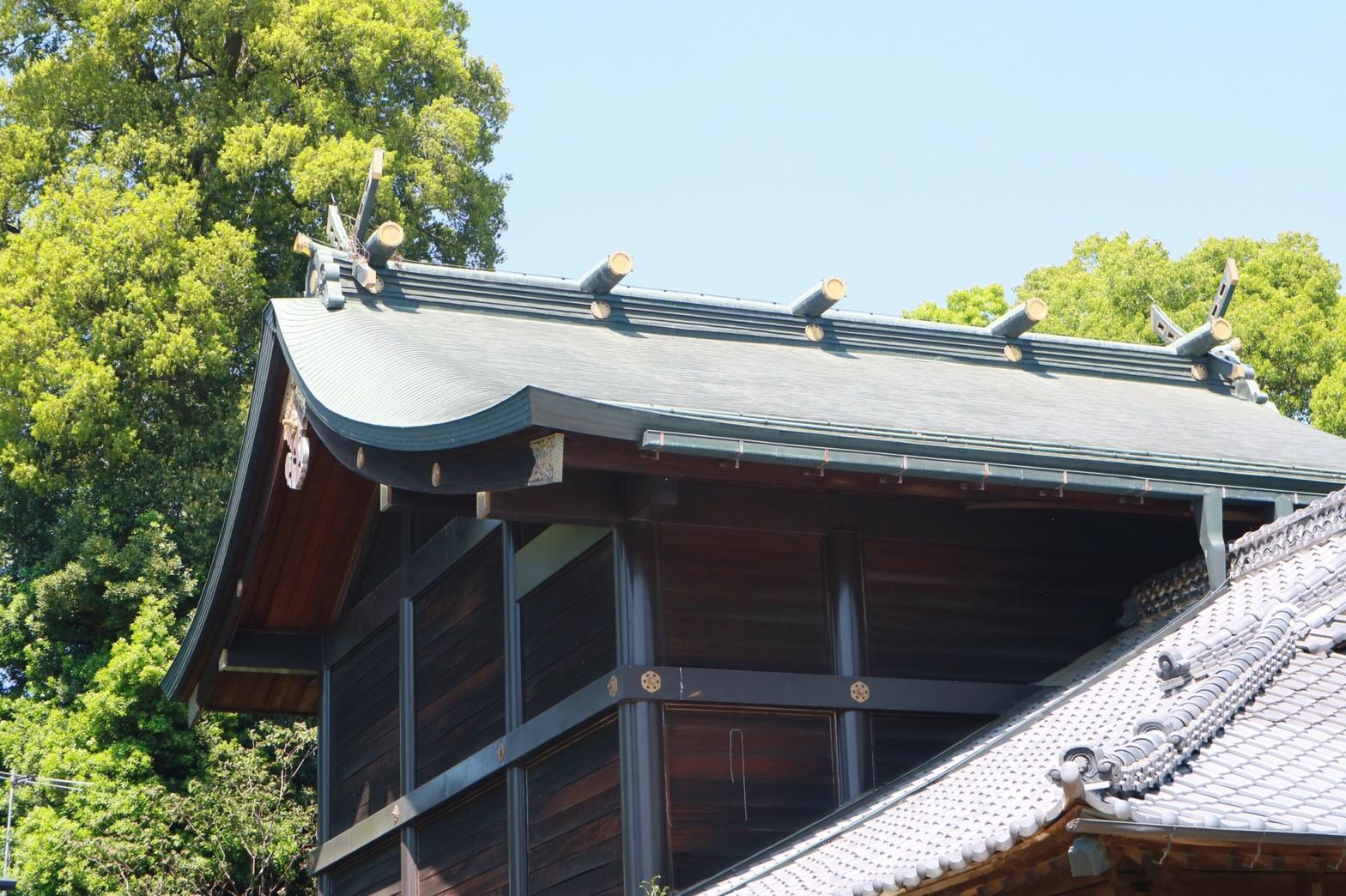 秋葉神社の本殿