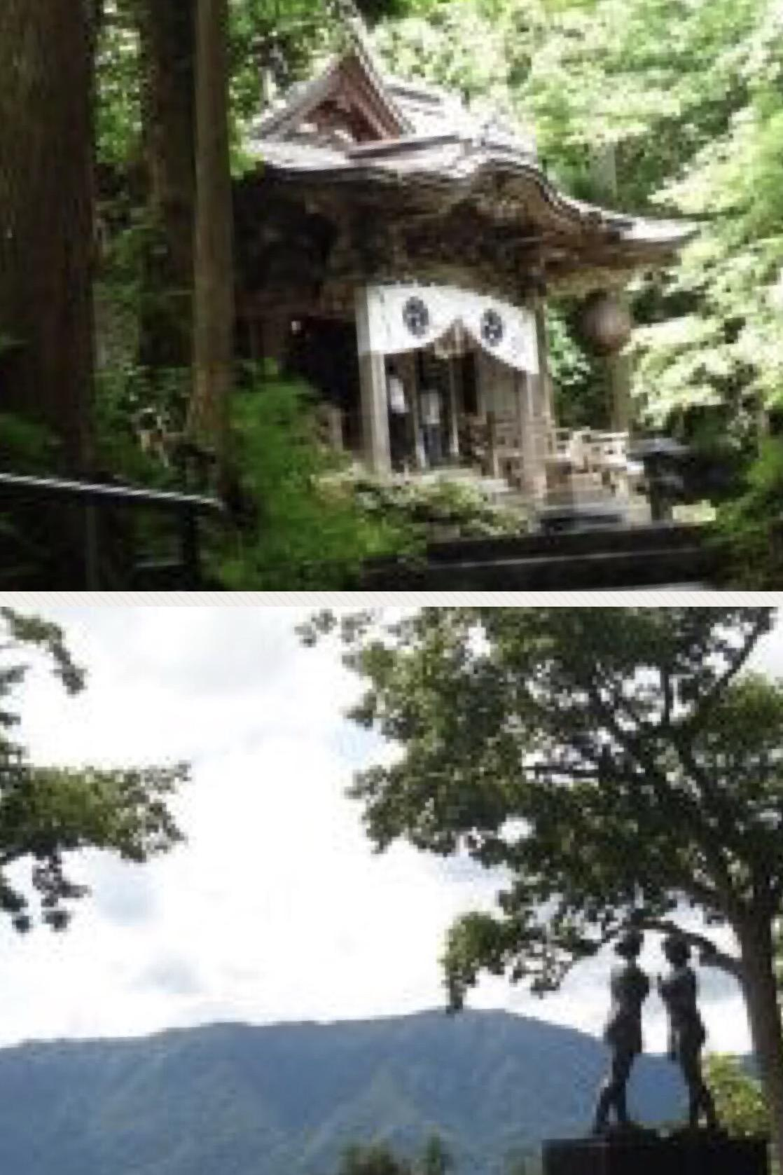 十和田神社の境内・文化財