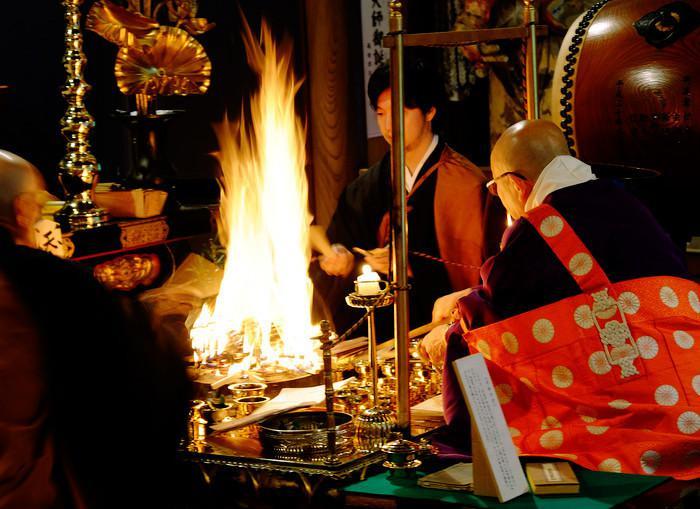 三佛寺のお祭り