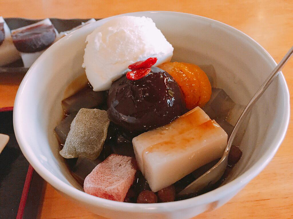 亀戸天神社の食事