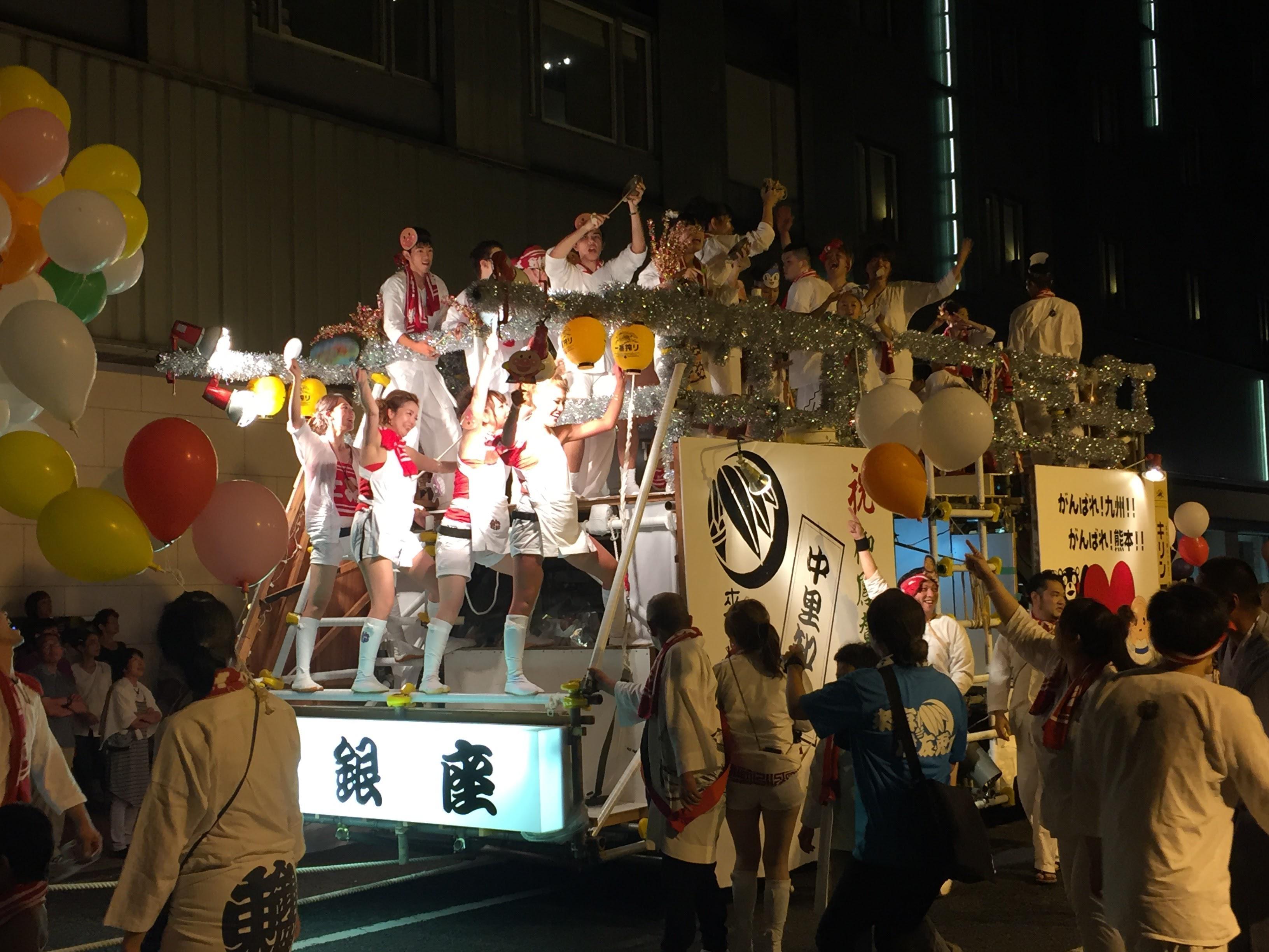 来宮神社のお祭り(静岡県来宮駅)