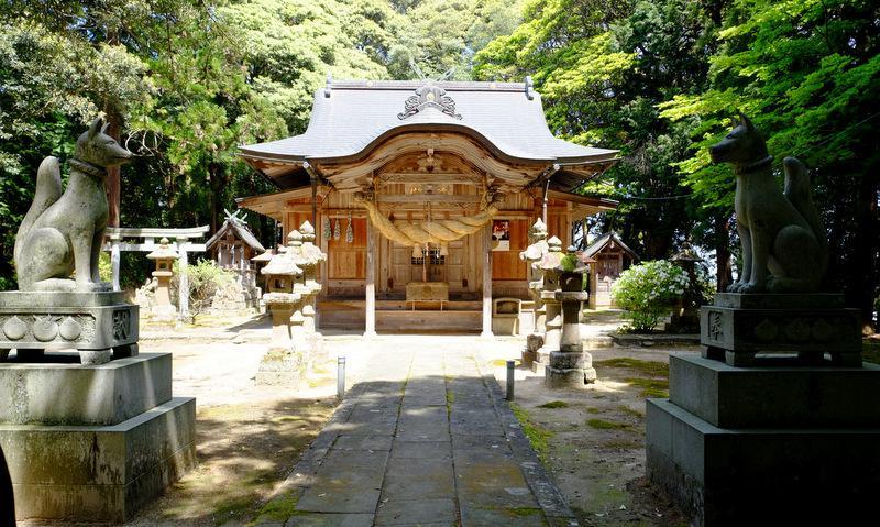 意多伎神社の本殿