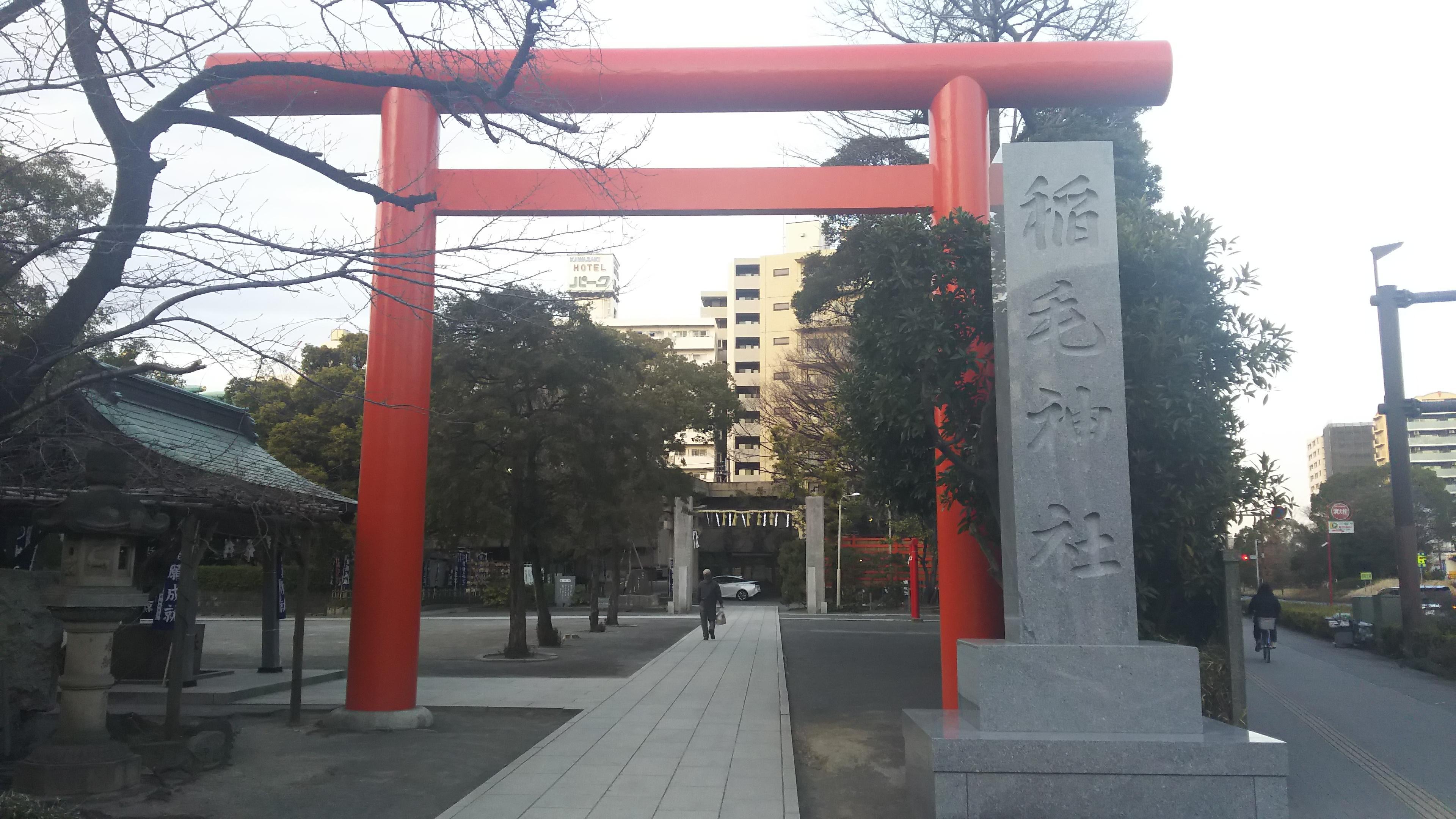 稲毛神社の境内・文化財