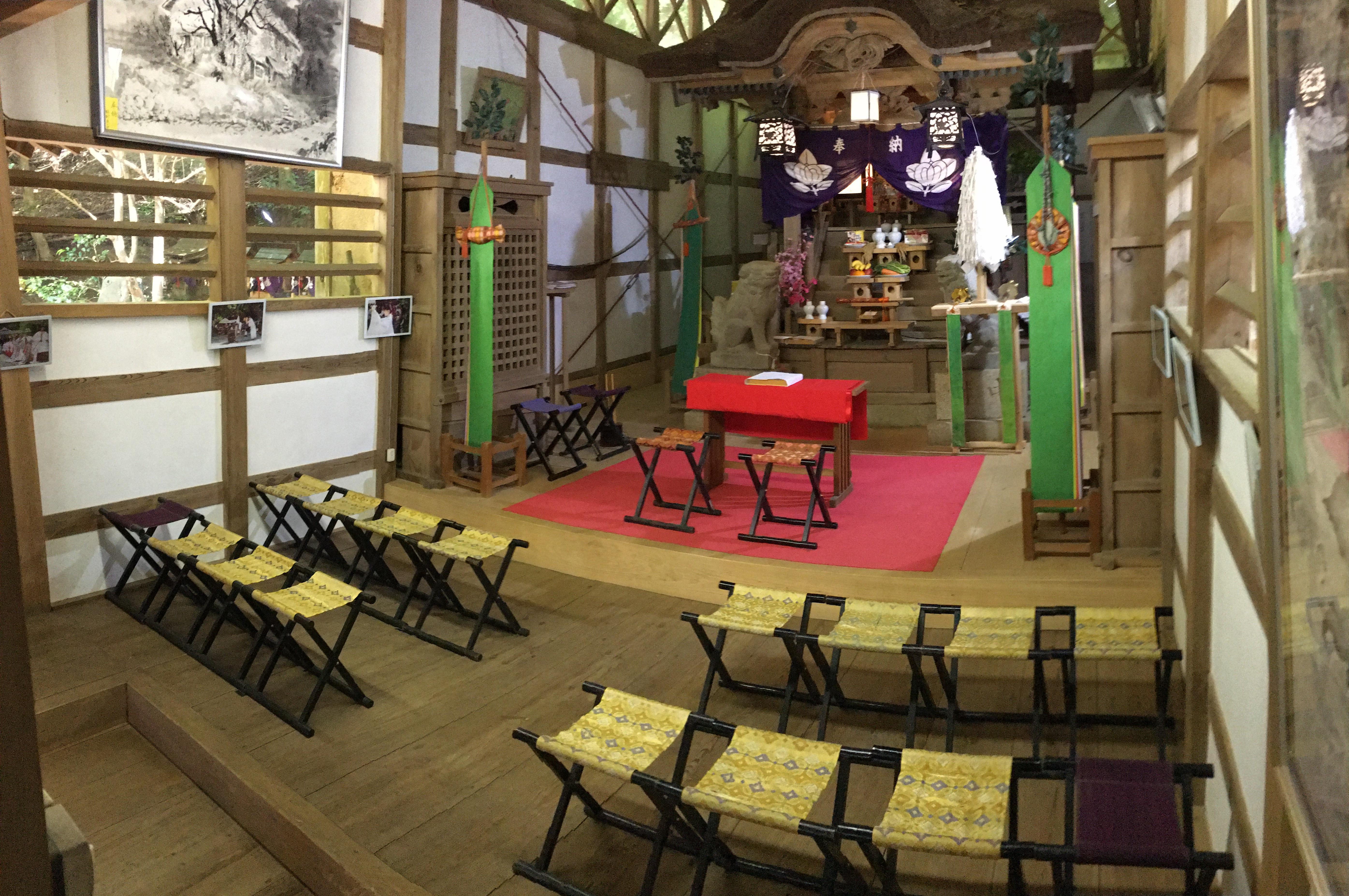 吉川八幡神社の本殿