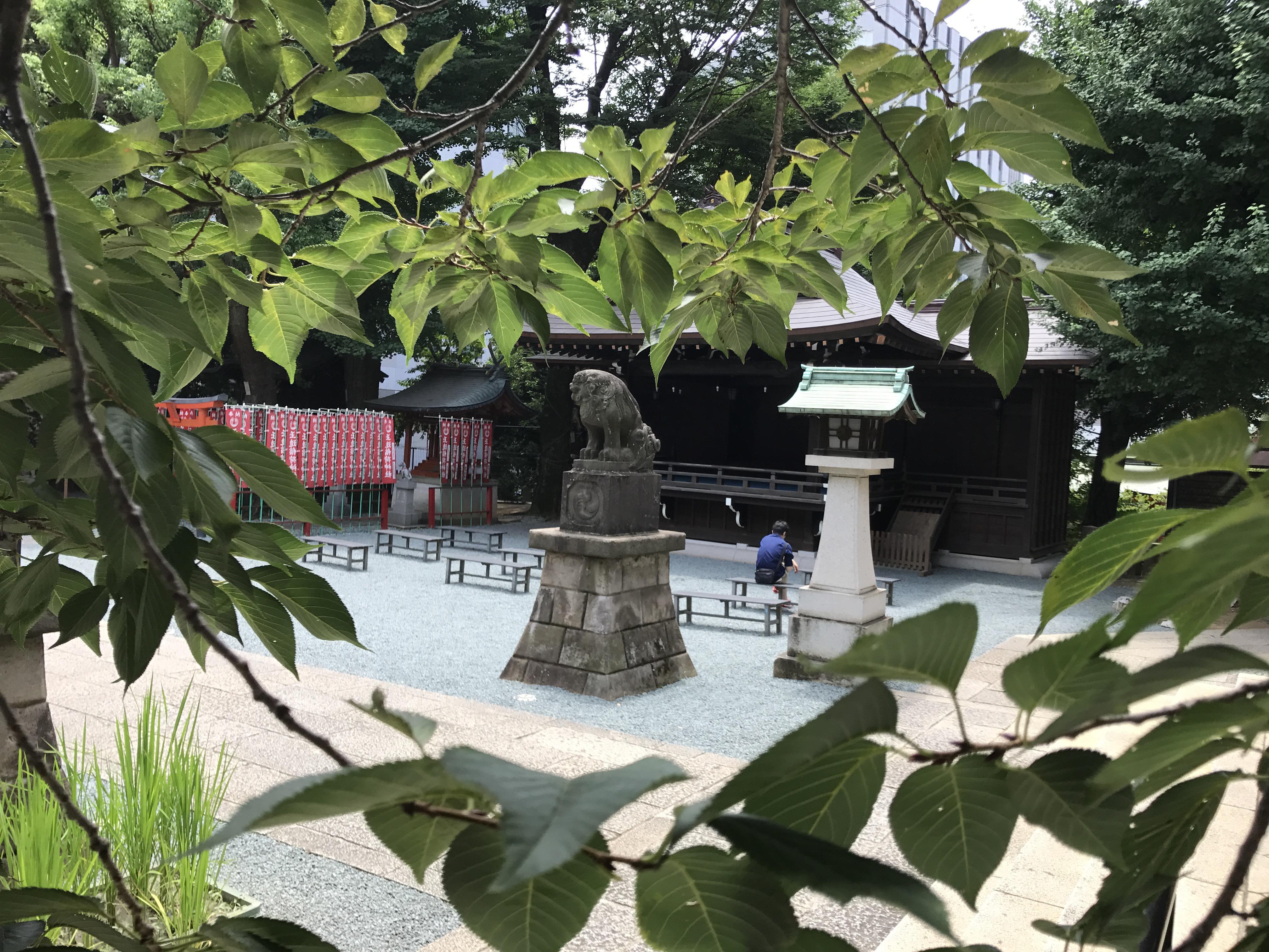 金王八幡宮の狛犬