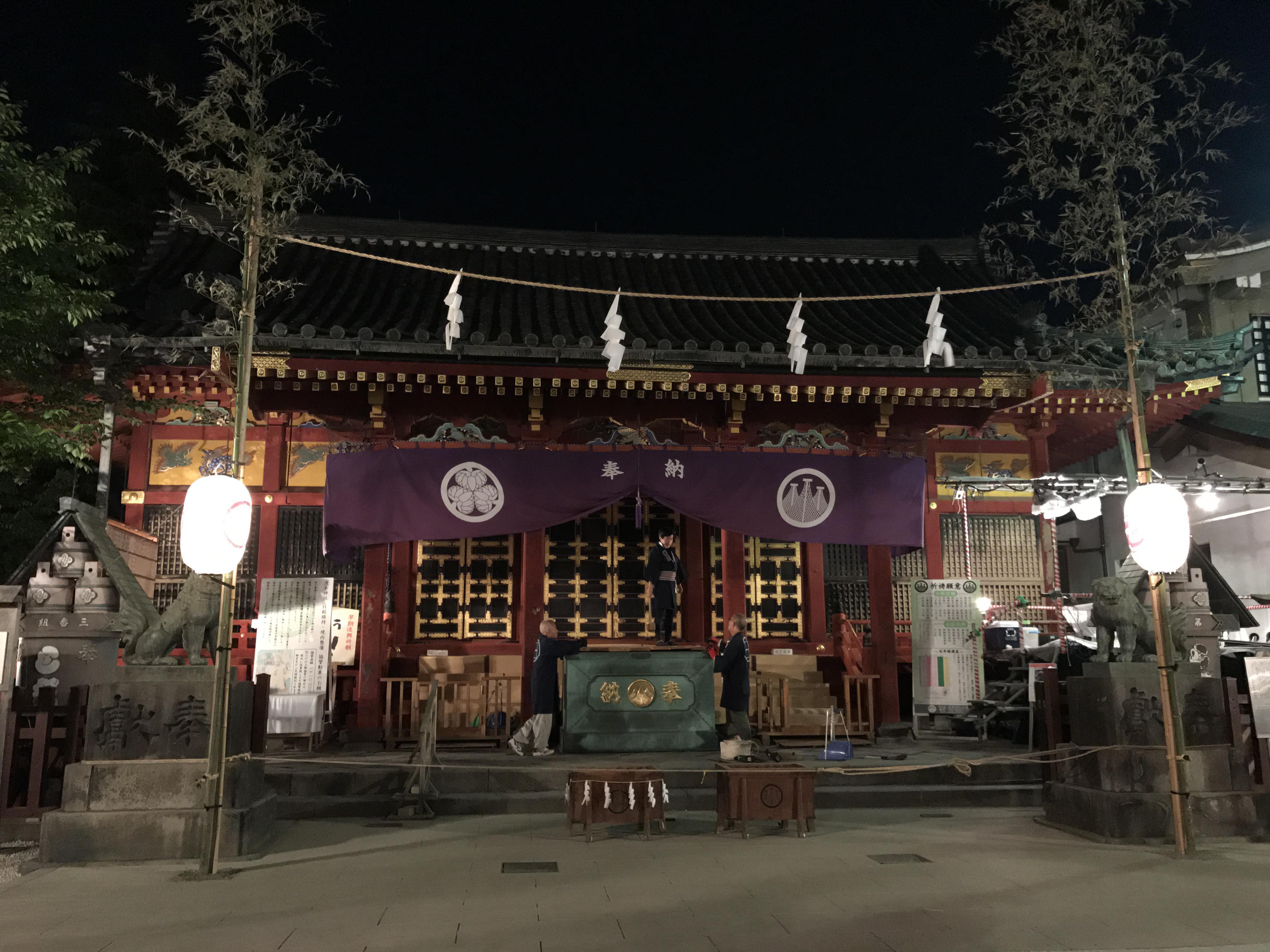 浅草神社の本殿