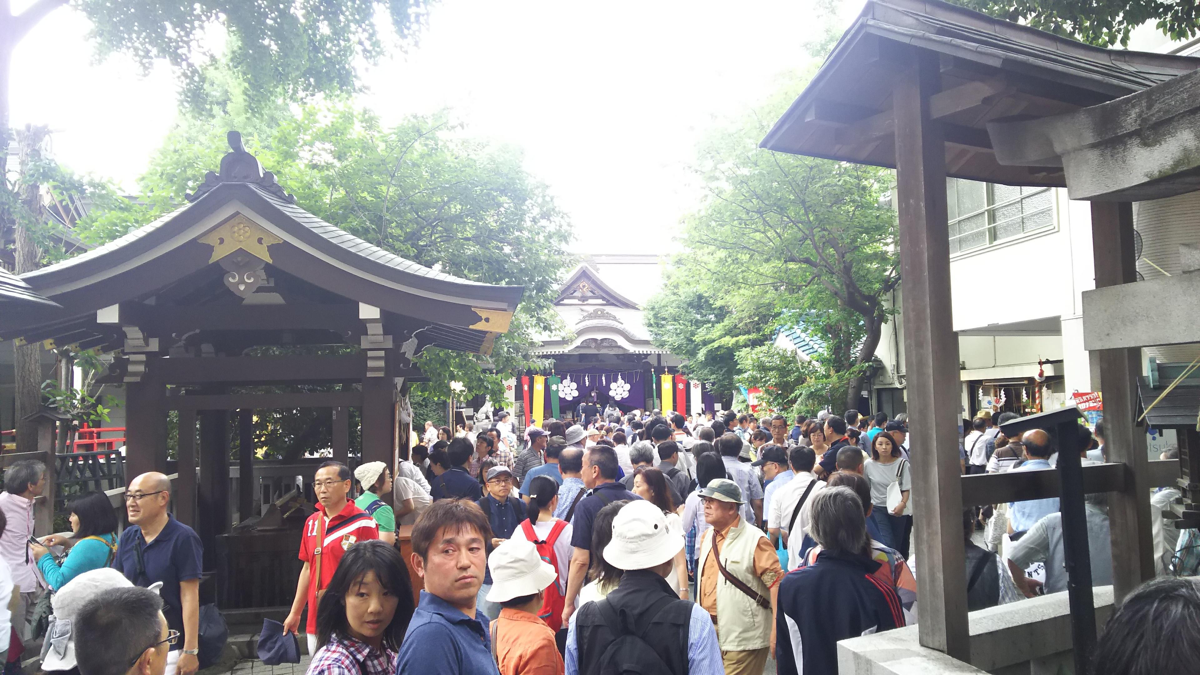 鳥越神社(東京都)