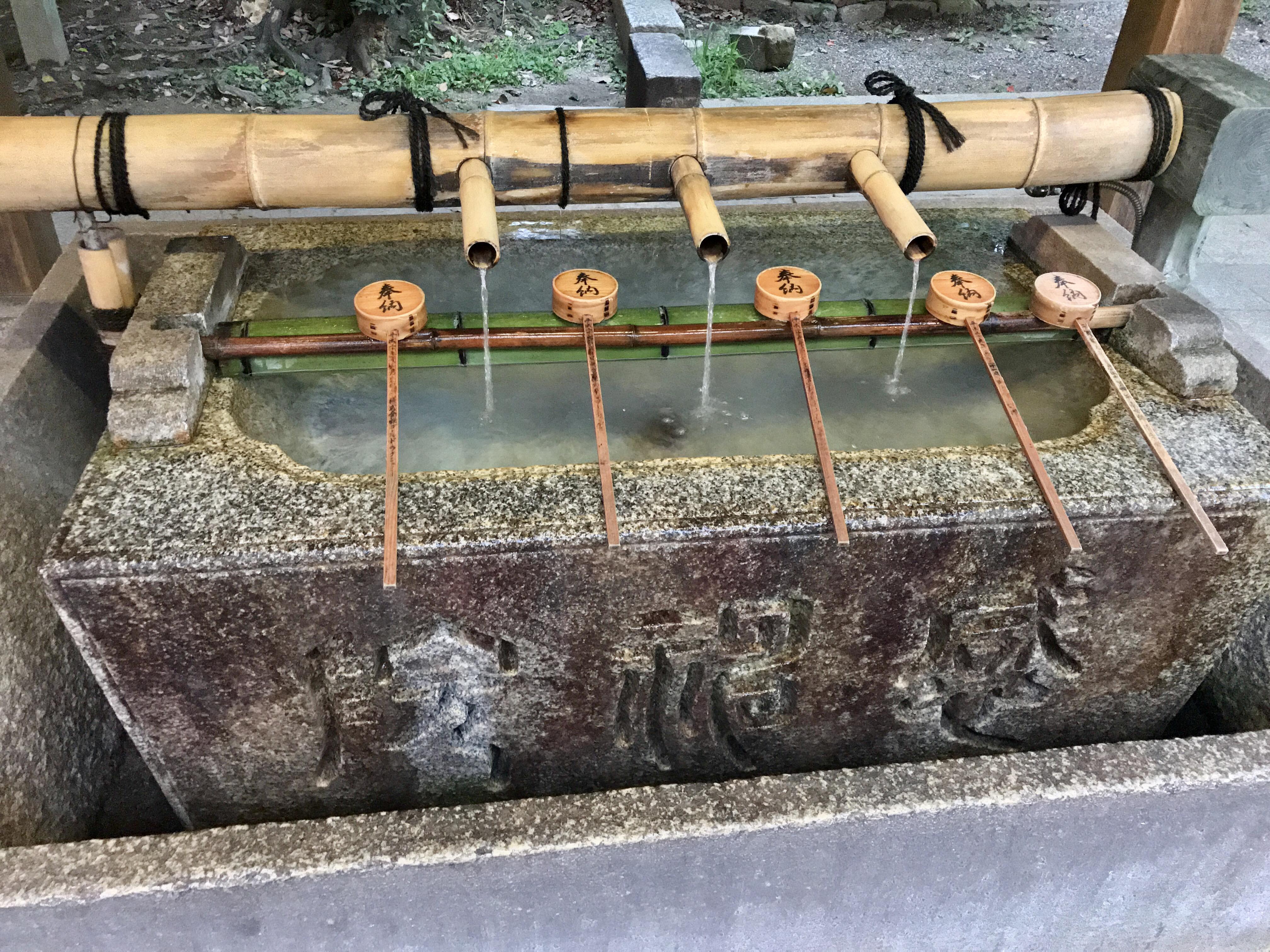 八坂神社(祇園さん)の手水