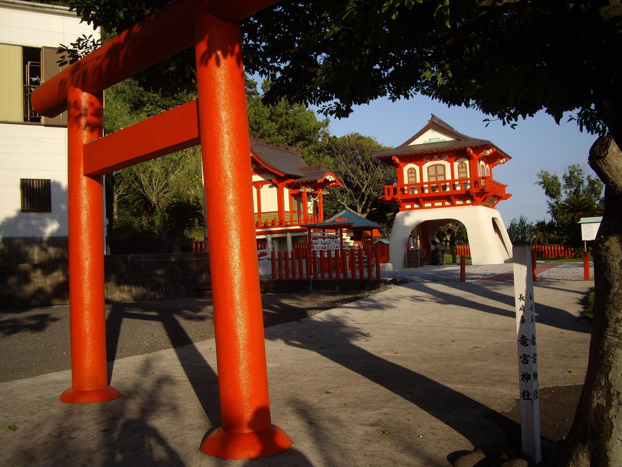 竜宮神社の鳥居