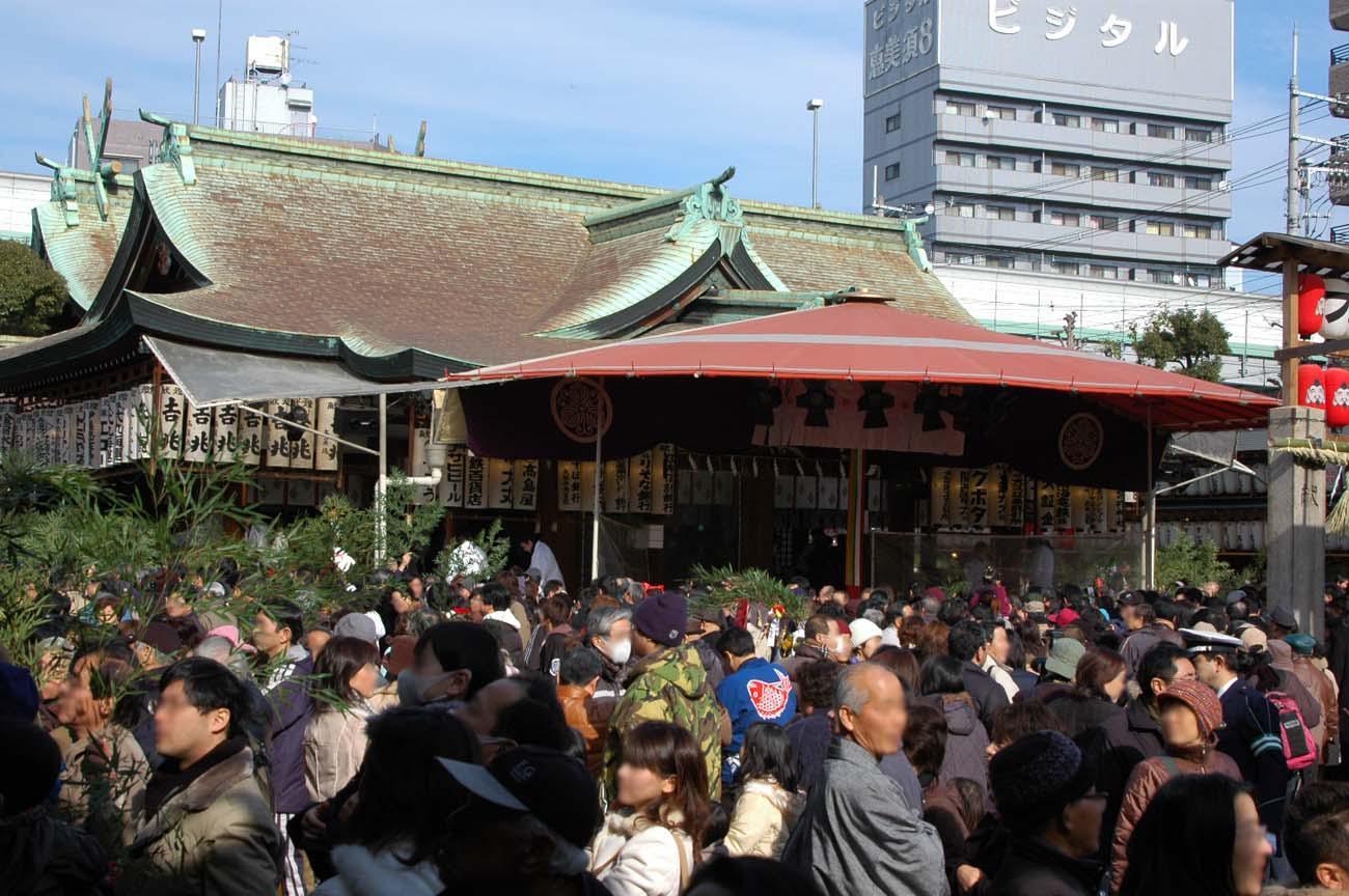 今宮戎神社の初詣
