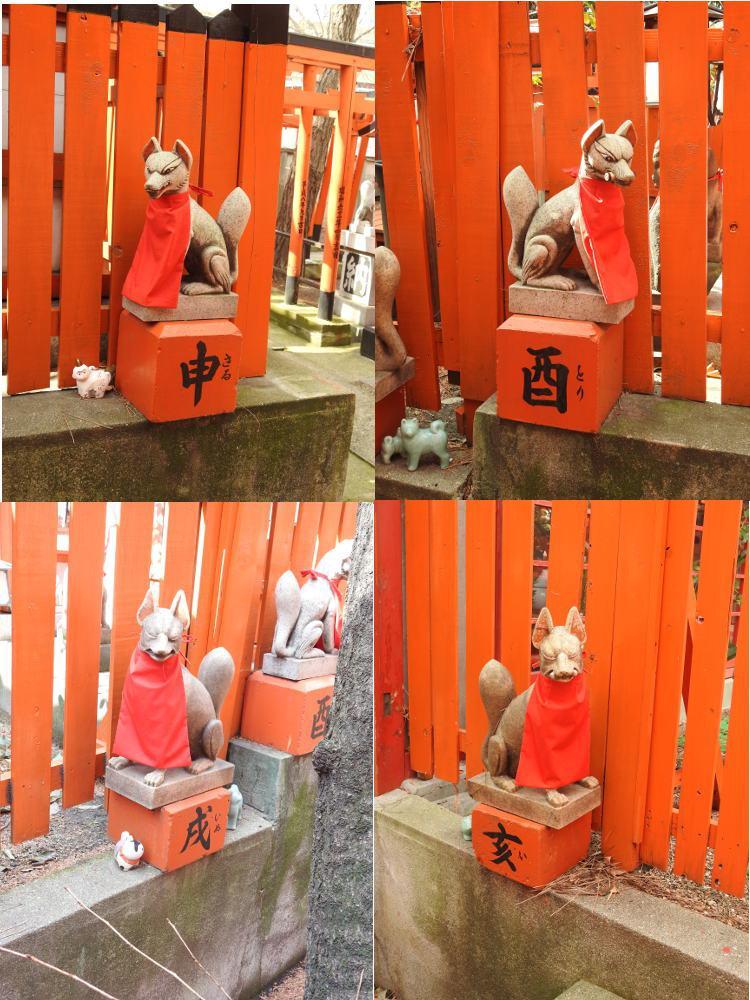 阿部野神社の狛犬