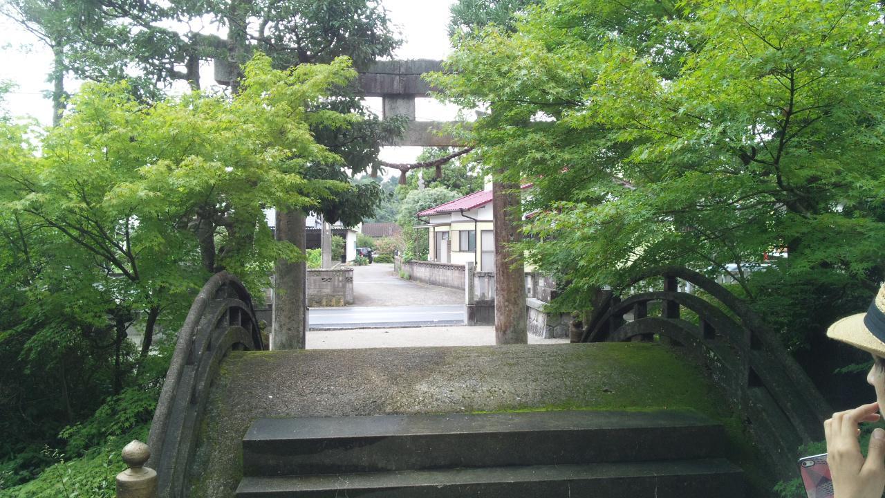 黒髪神社の鳥居