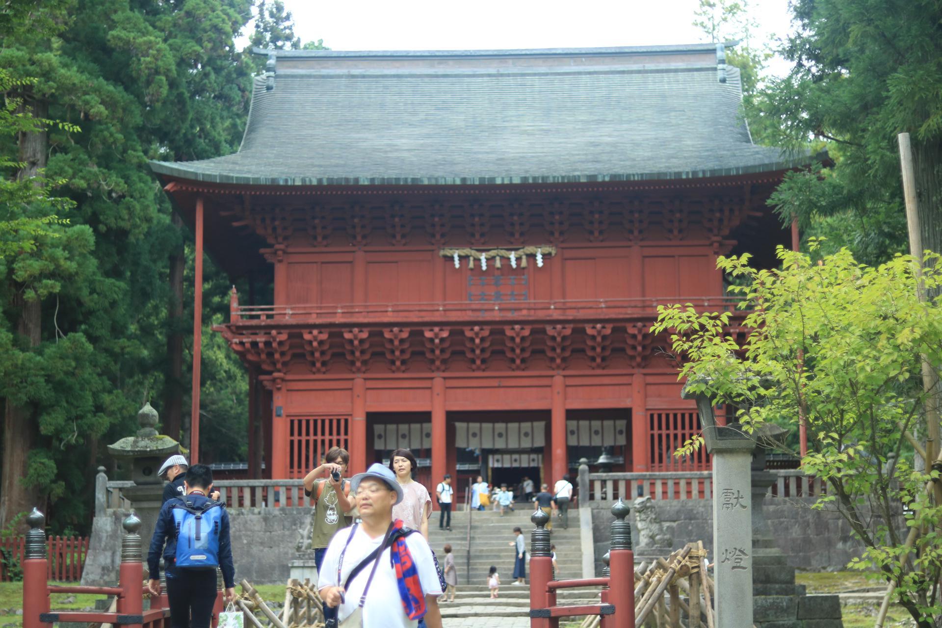 岩木山神社の山門