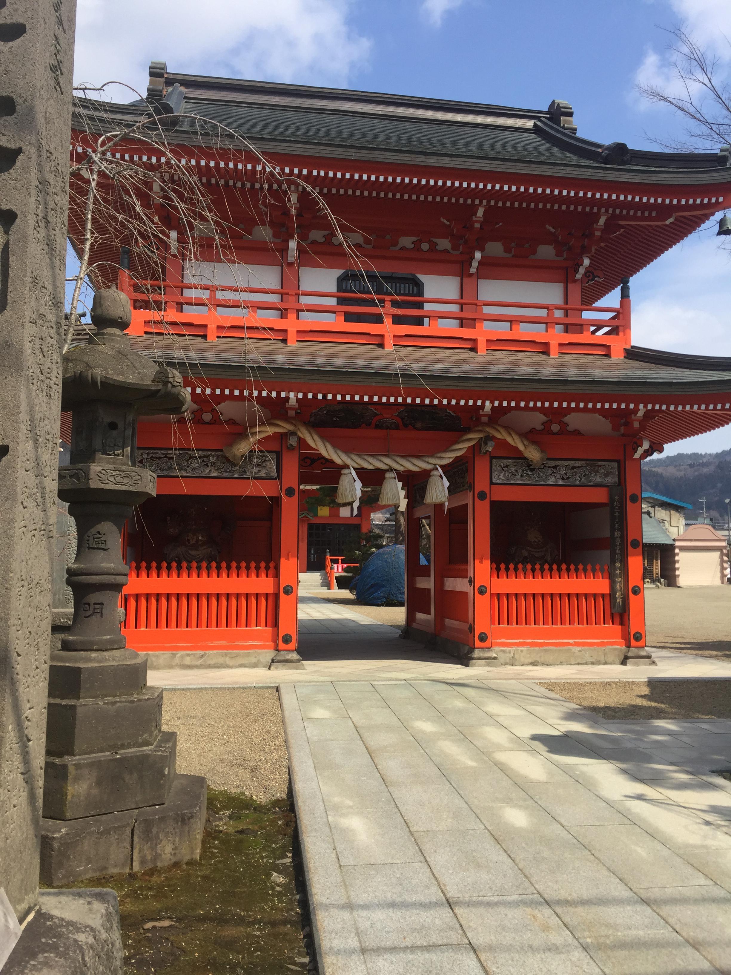 大圓寺の山門