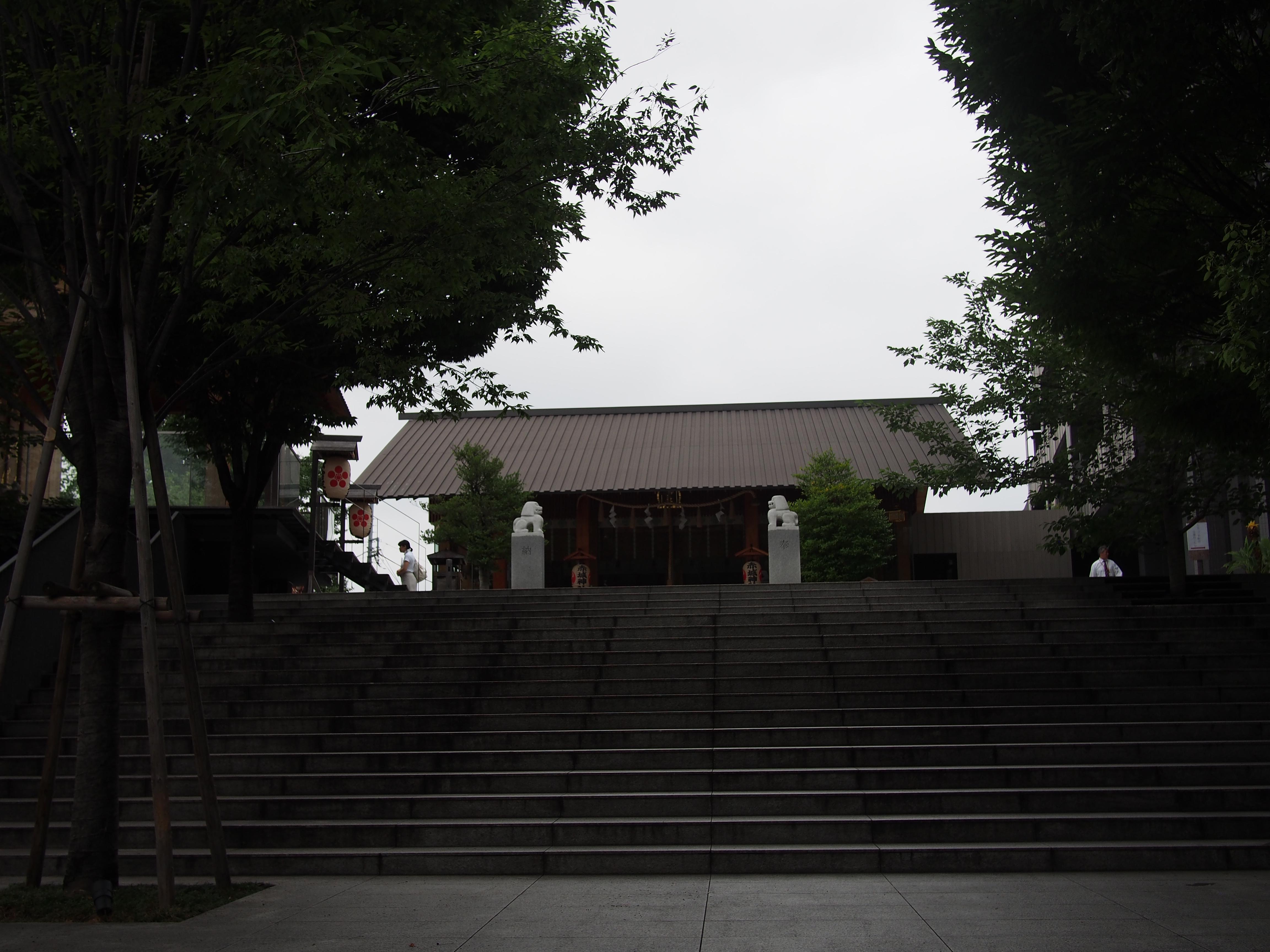 赤城神社の景色