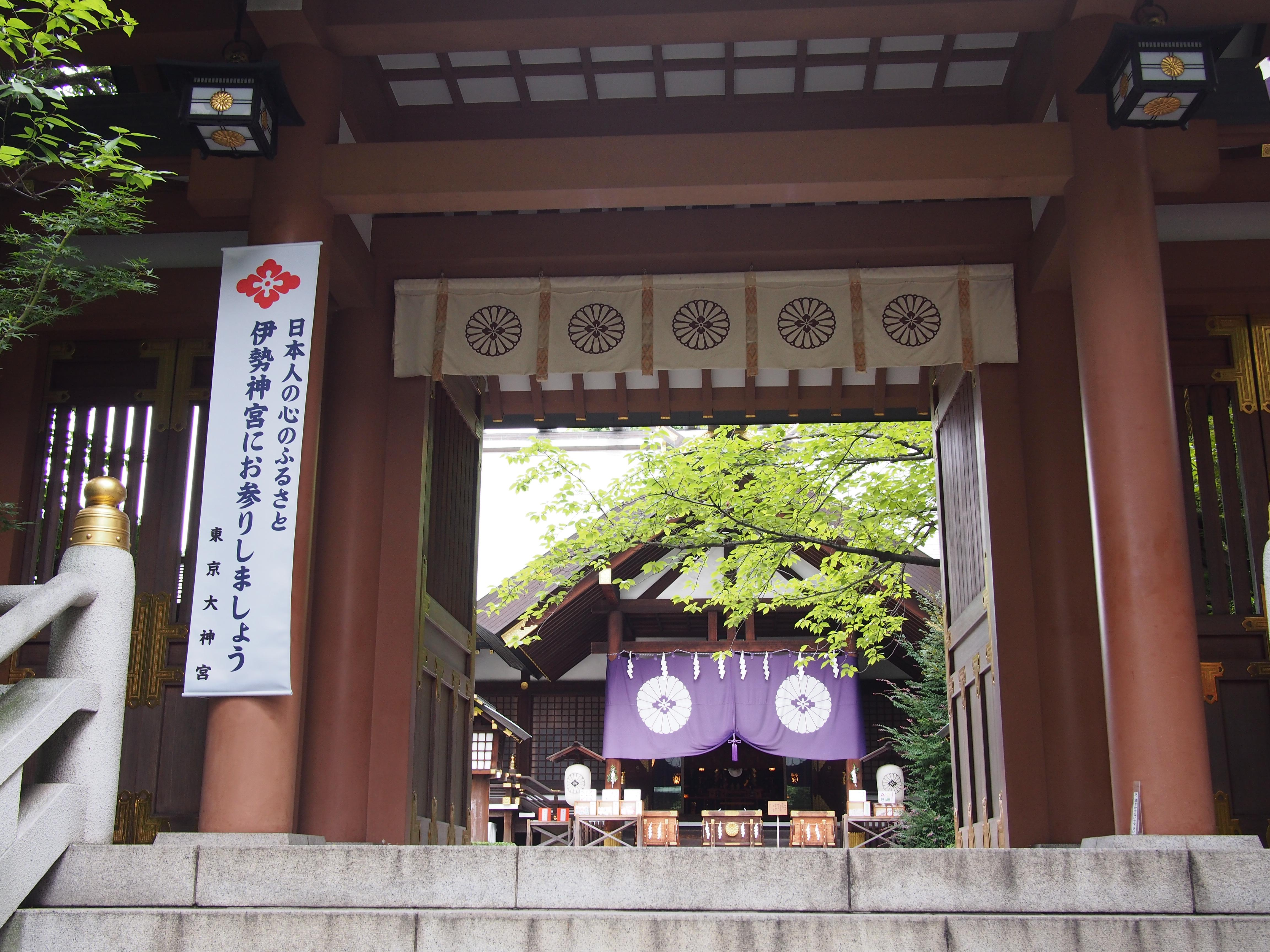 東京大神宮の景色