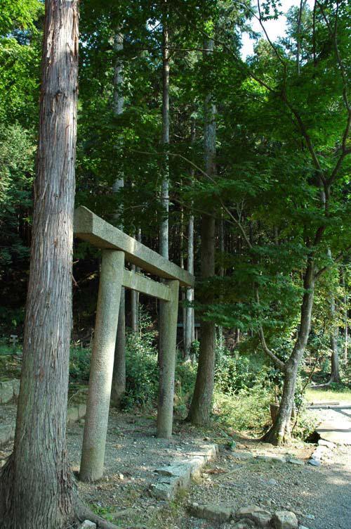 圓光寺の鳥居(京都府修学院駅)