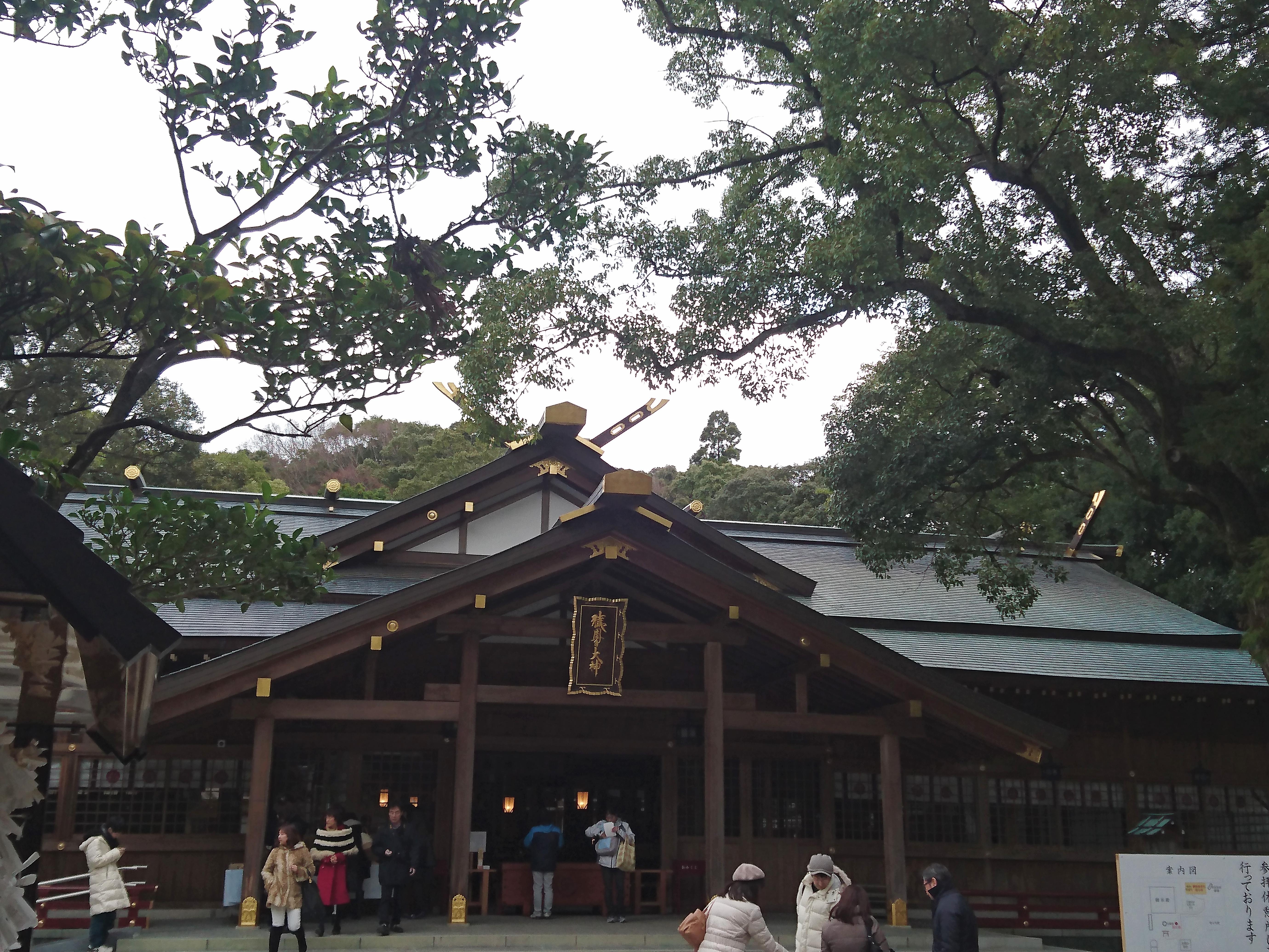 猿田彦神社の境内・文化財