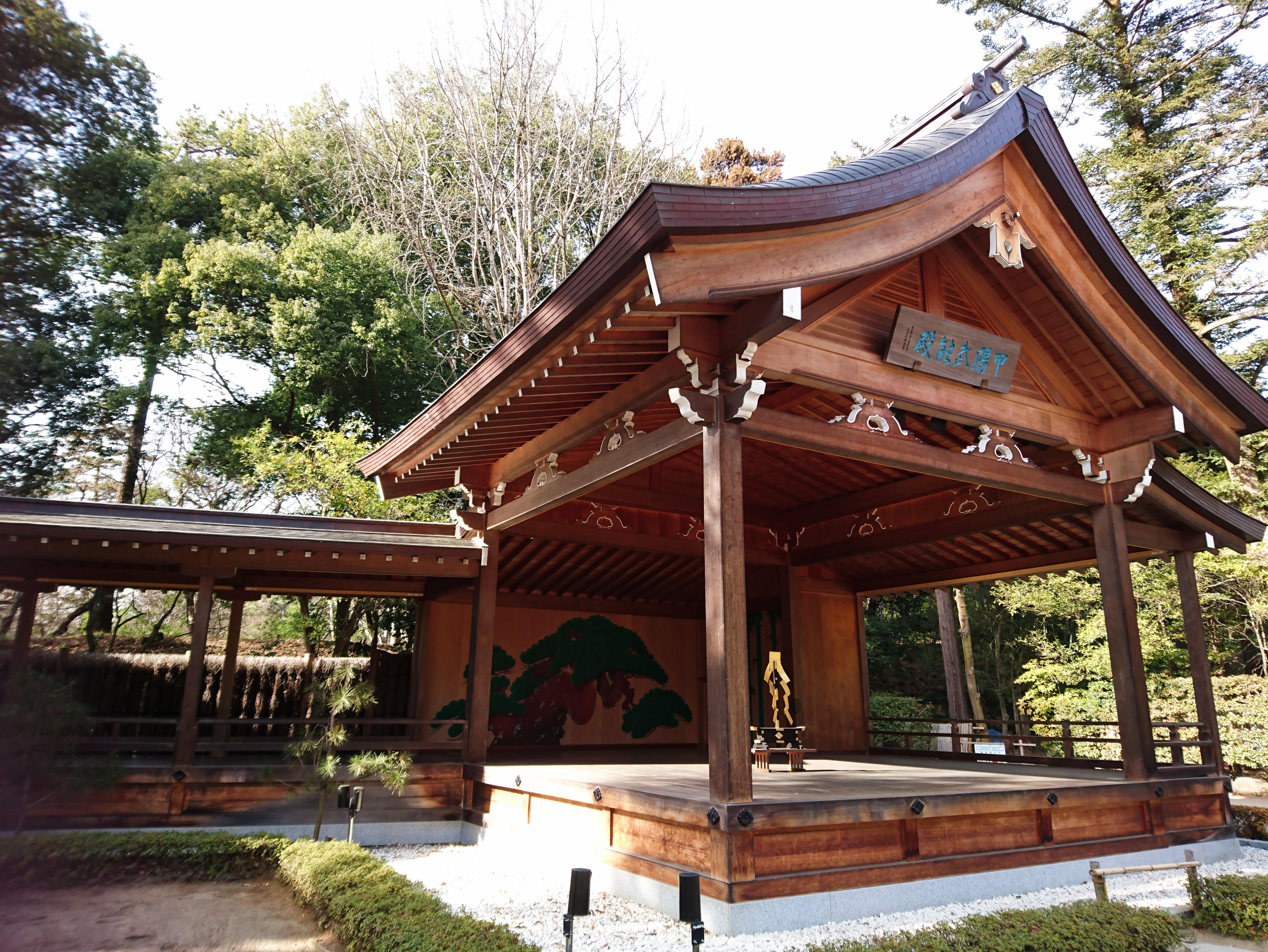 武田神社の神楽