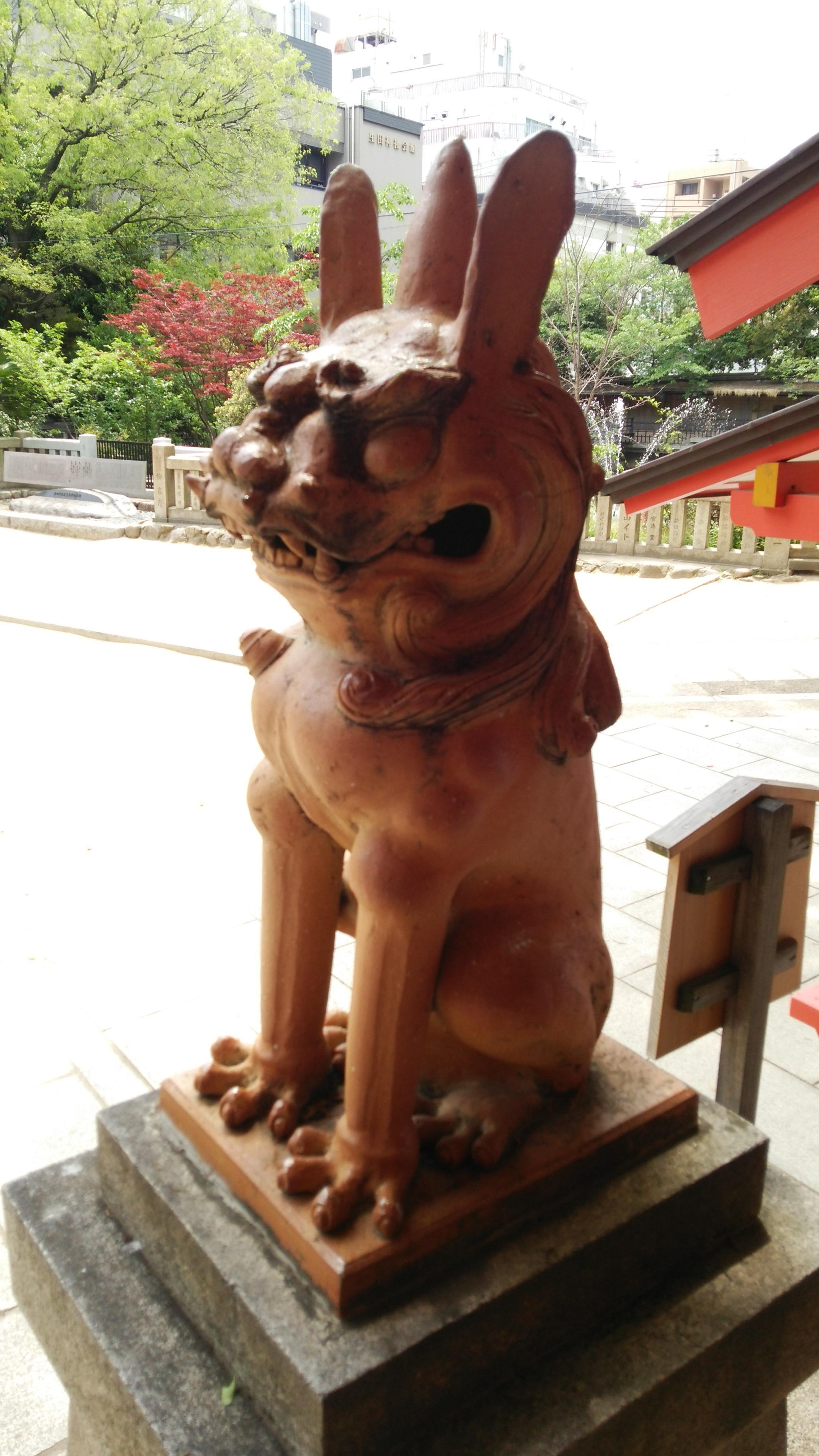 生田神社の狛犬