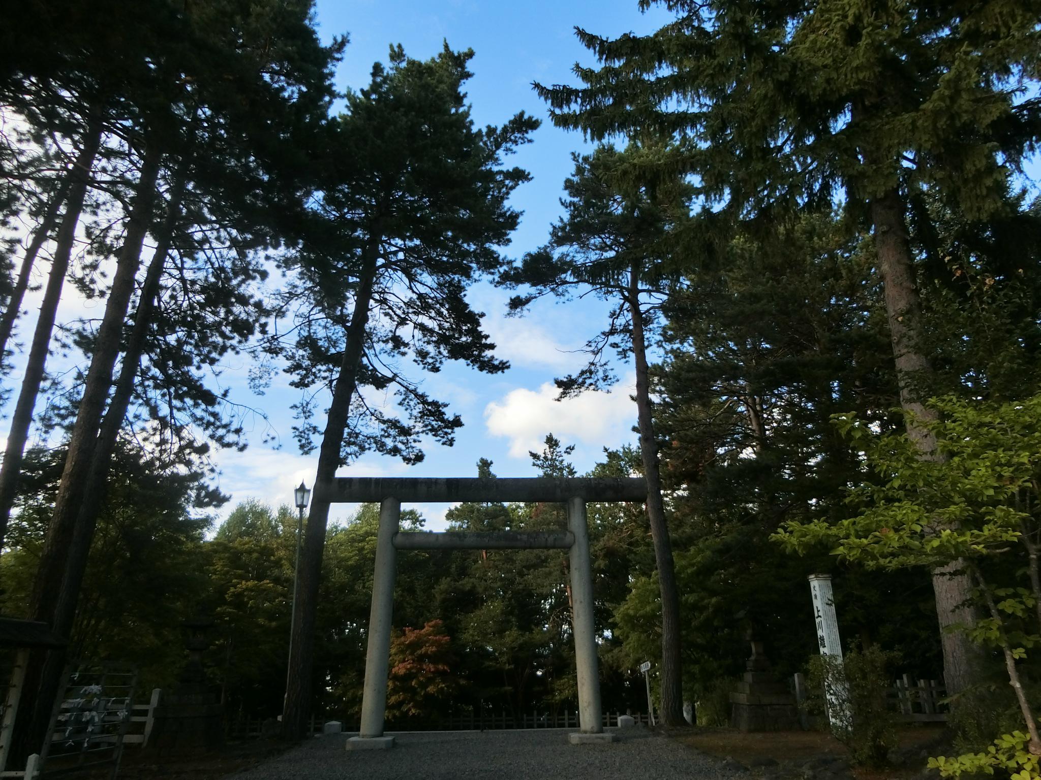 上川神社の境内・文化財