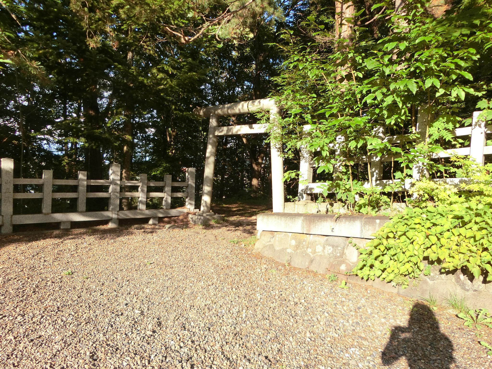 上川神社の鳥居