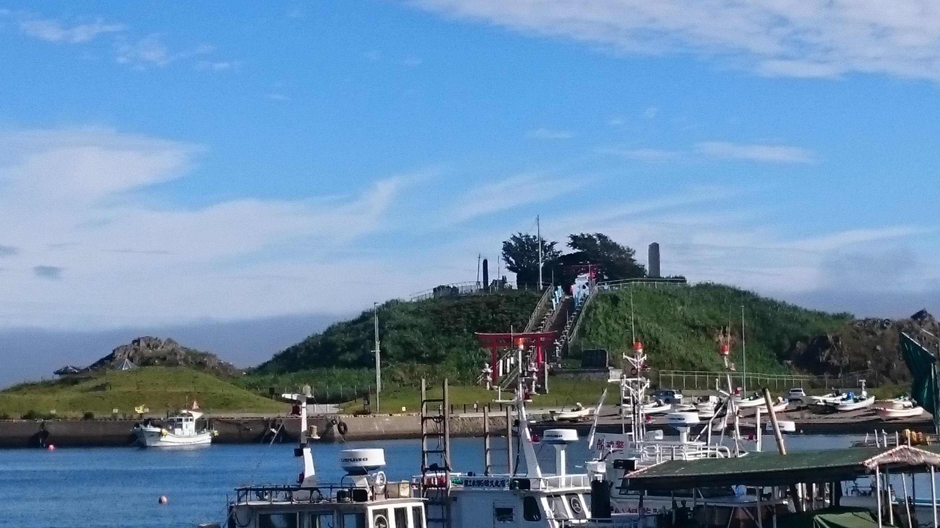 蕪嶋神社の景色