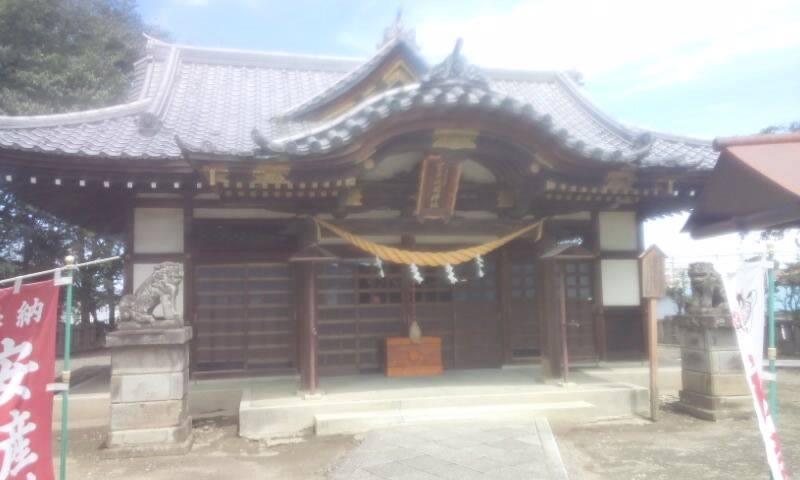富士浅間神社の本殿