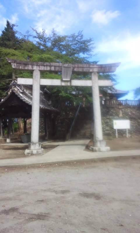 富士浅間神社の鳥居