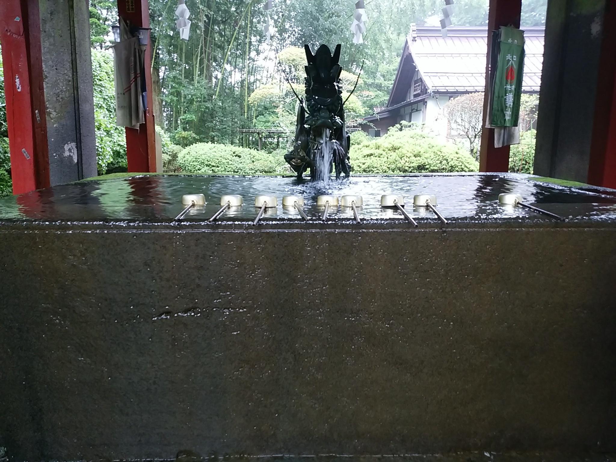 三嶋大社の手水