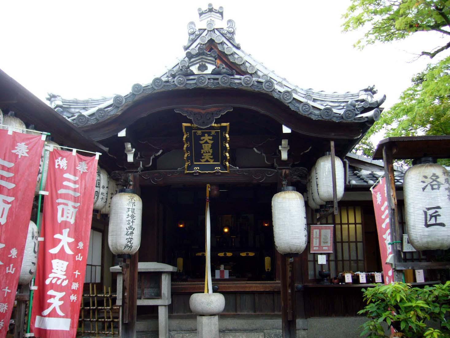 圓徳院(高台寺塔頭)の本殿