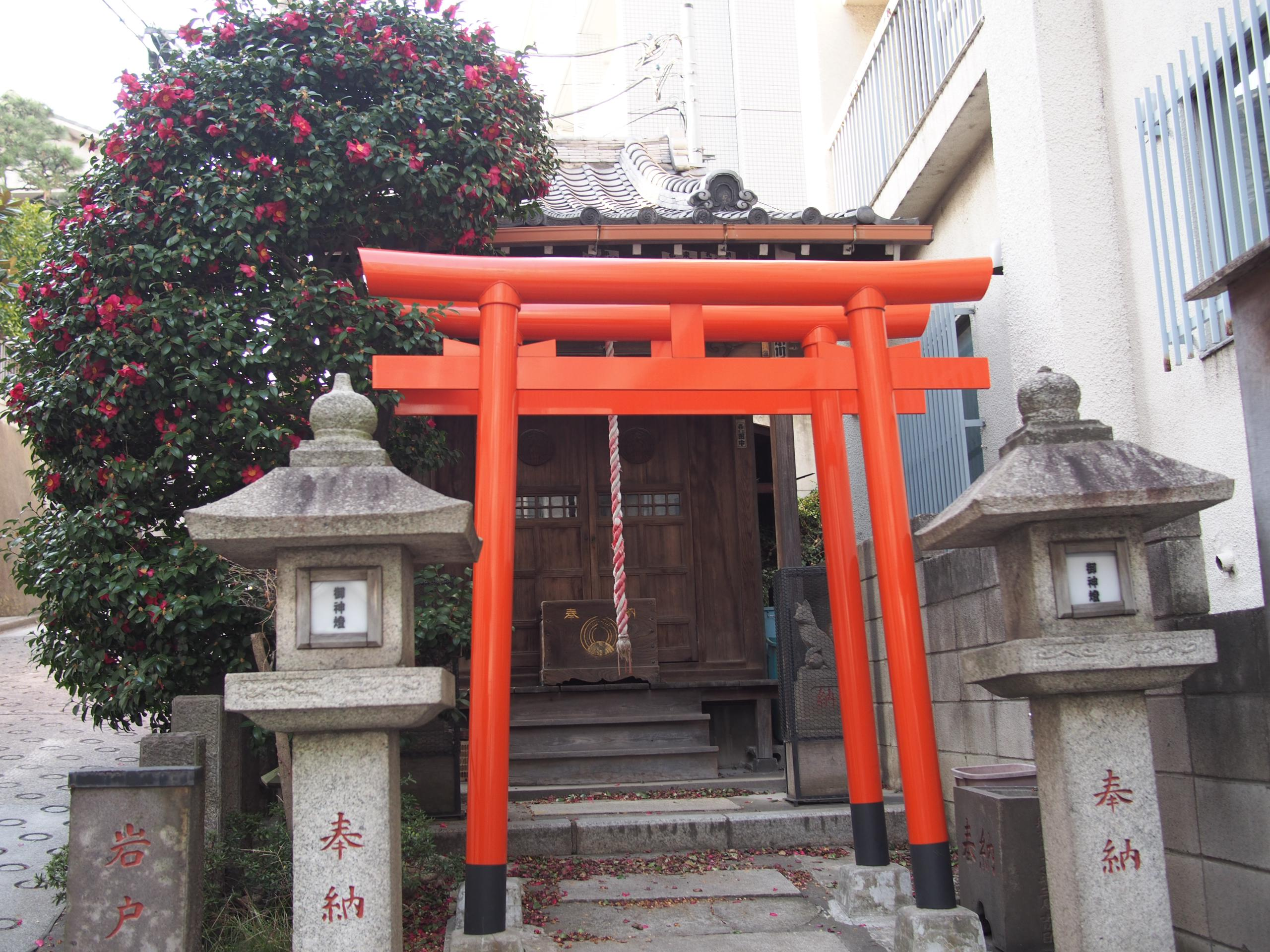 繁栄稲荷神社の鳥居