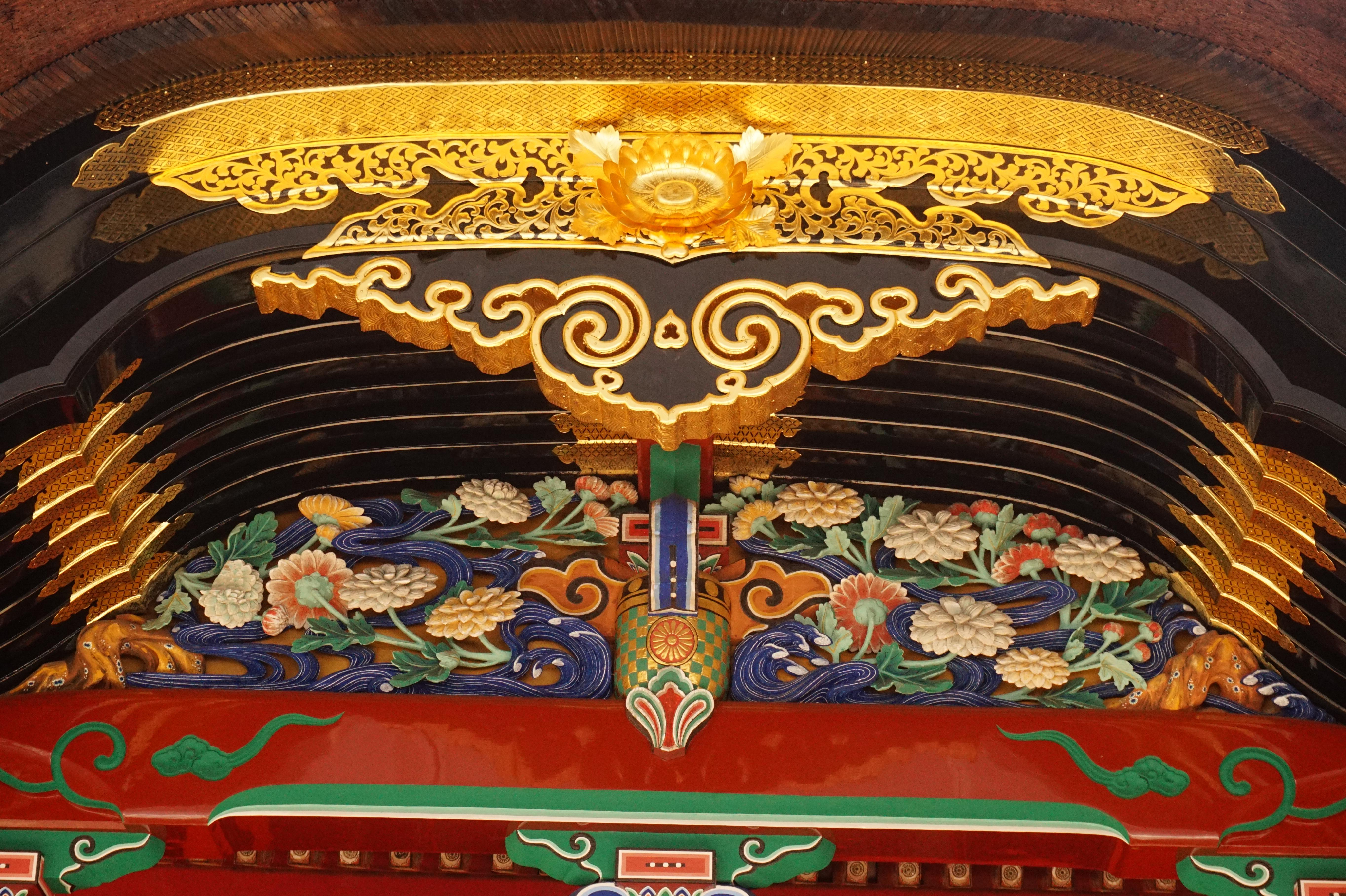 六所神社の芸術