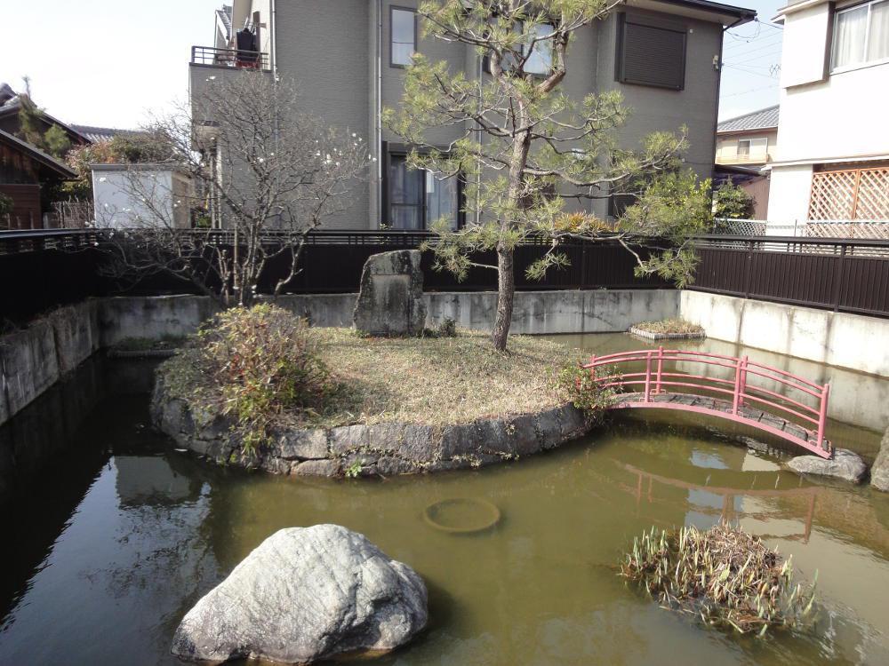 菅原天満宮(菅原神社)の庭園