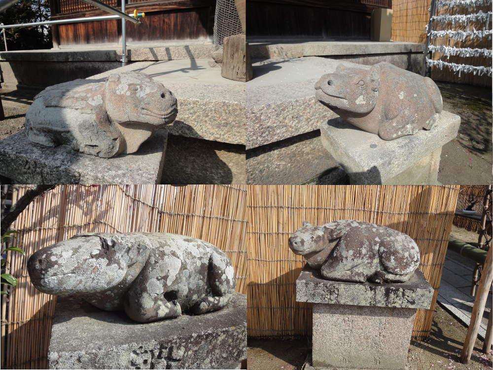 菅原天満宮(菅原神社)の狛犬