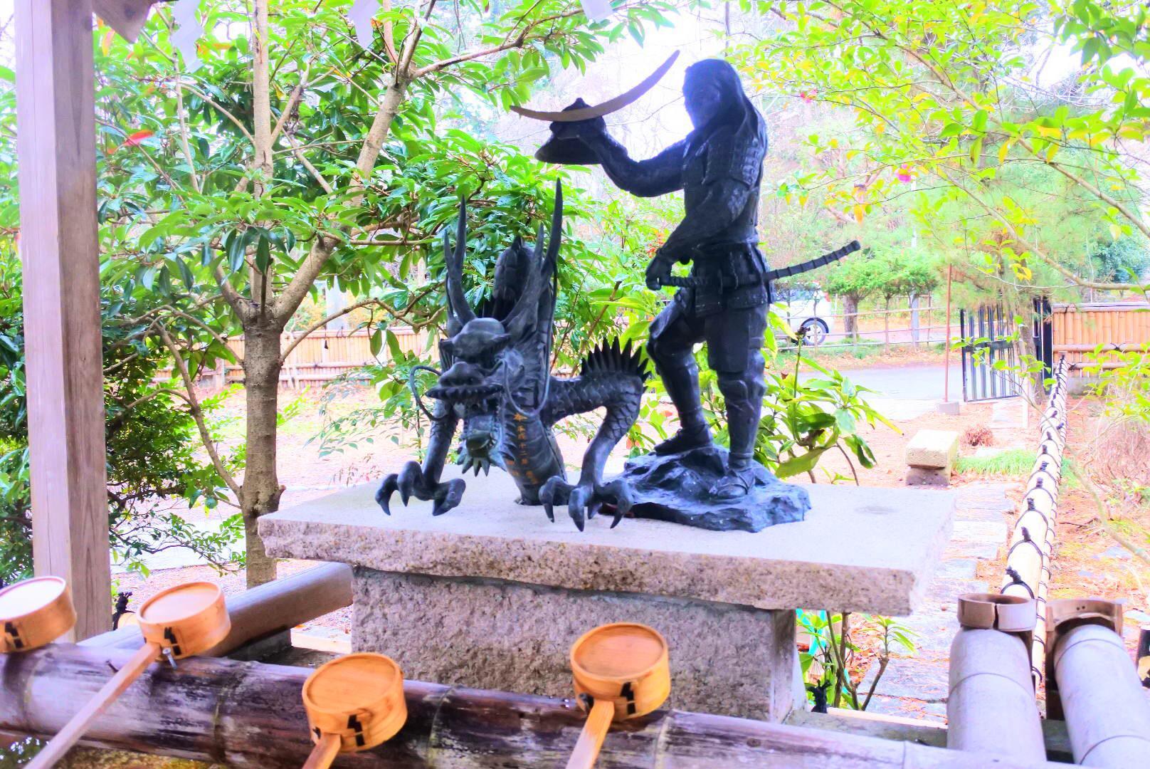 青葉神社の手水