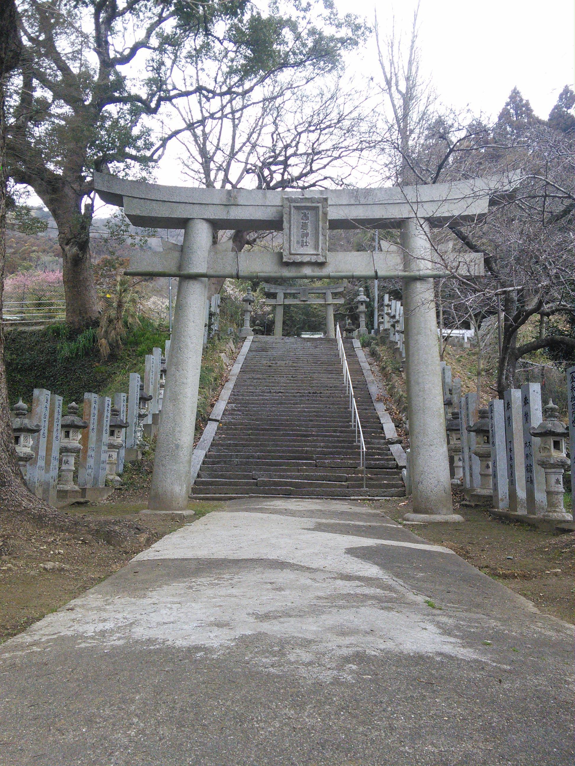 香春神社の境内・文化財