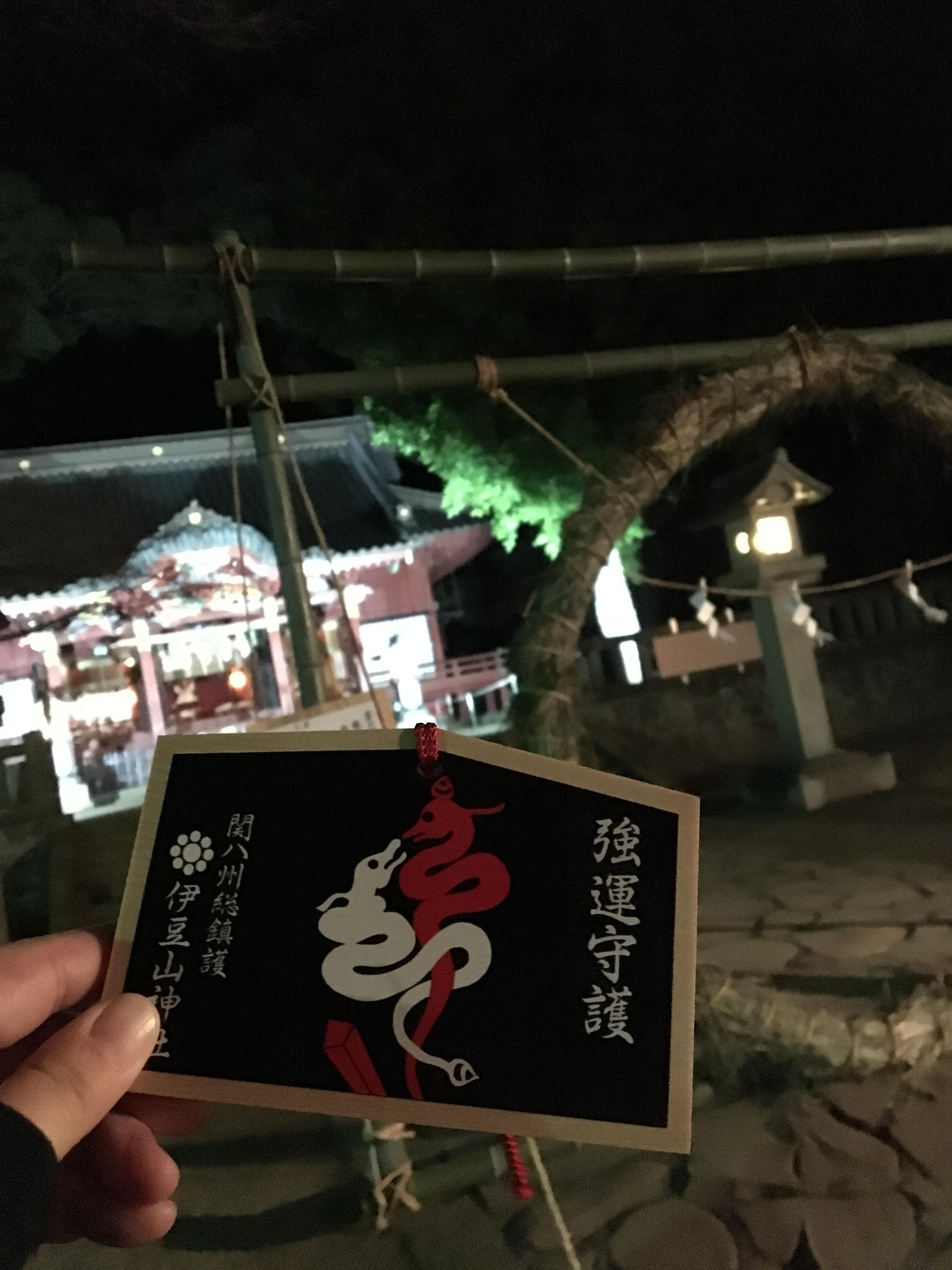 伊豆山神社の絵馬