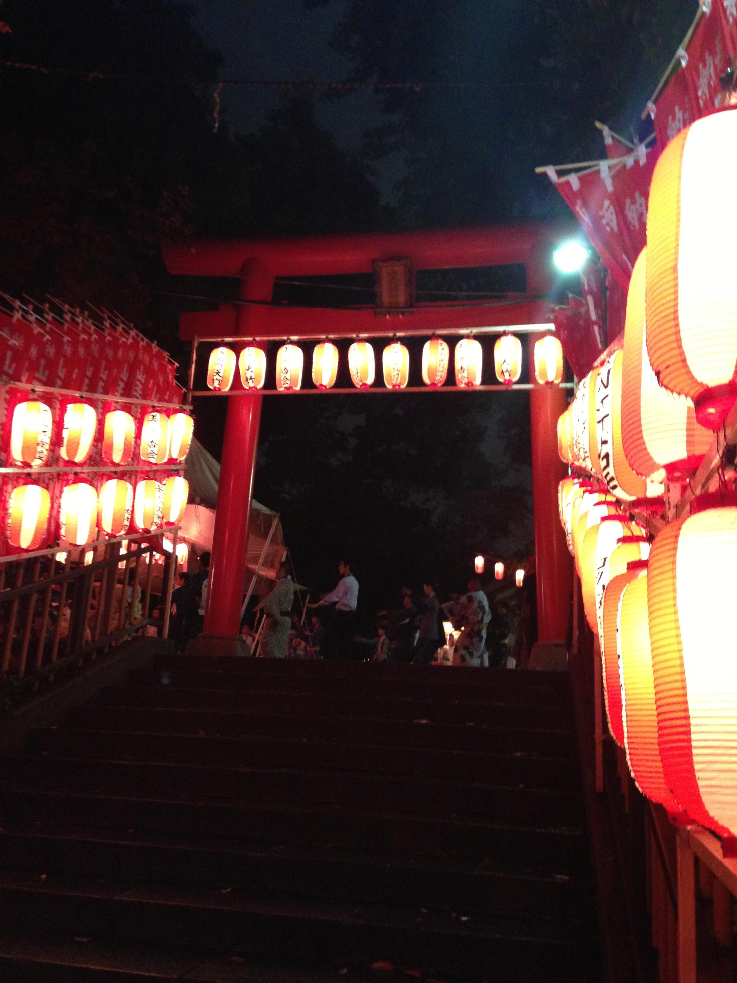 日枝神社の境内・文化財
