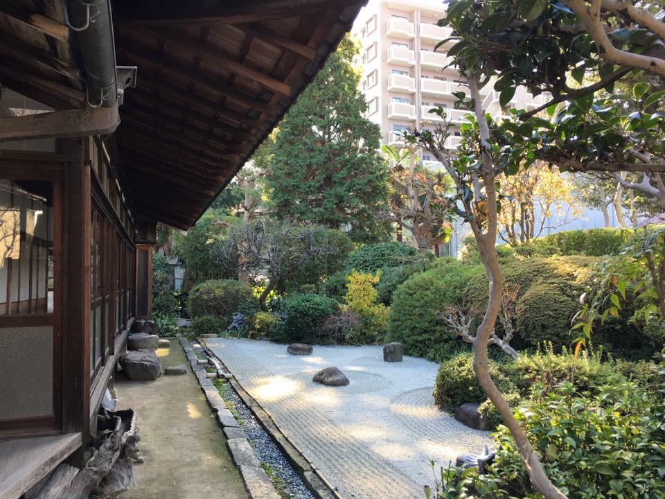 常光寺の庭園