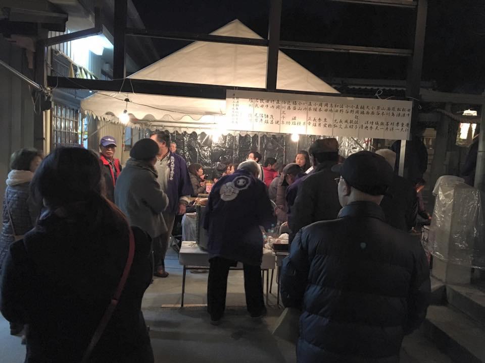 妙法寺のお祭り