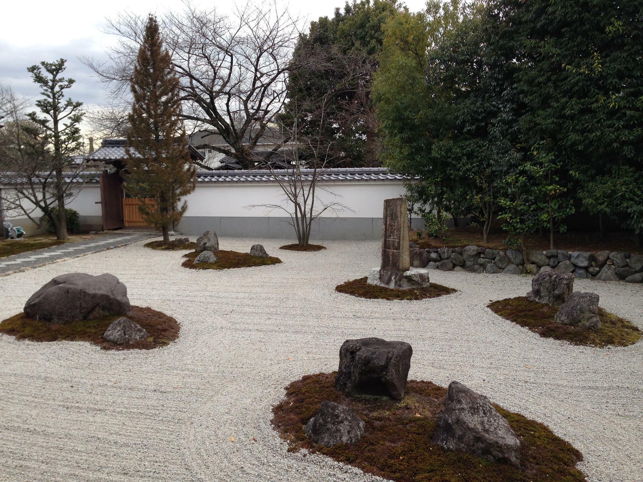 報恩寺の庭園