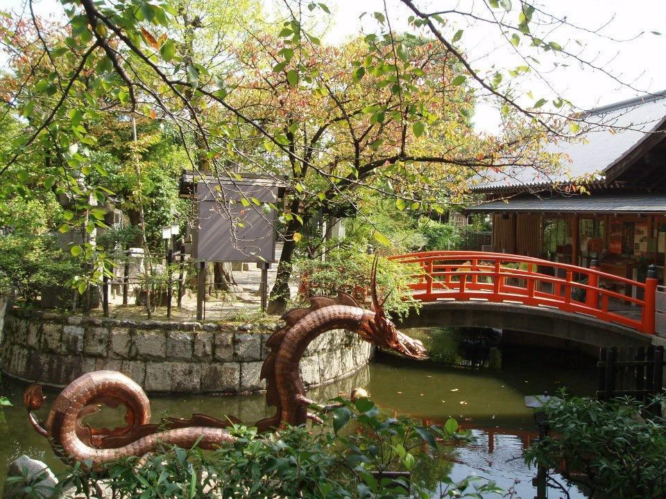 壬生寺の庭園