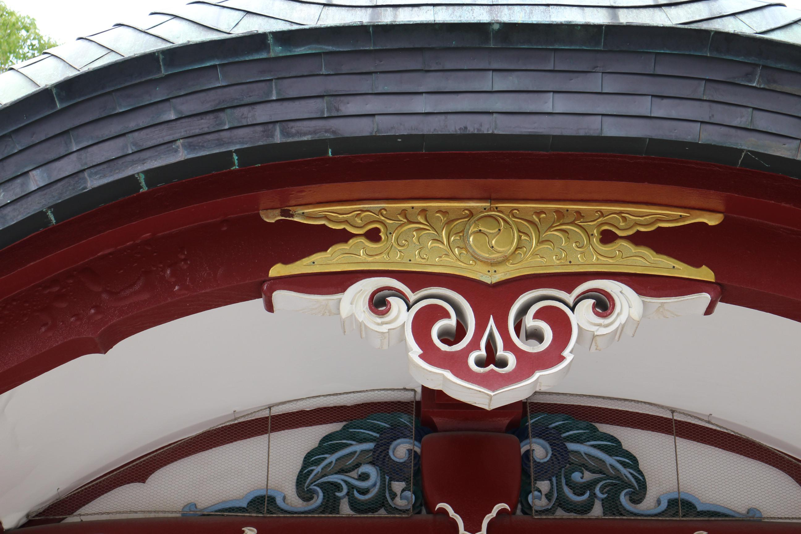 開口神社の芸術