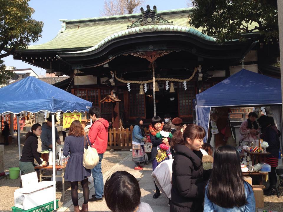 中道八阪神社の本殿
