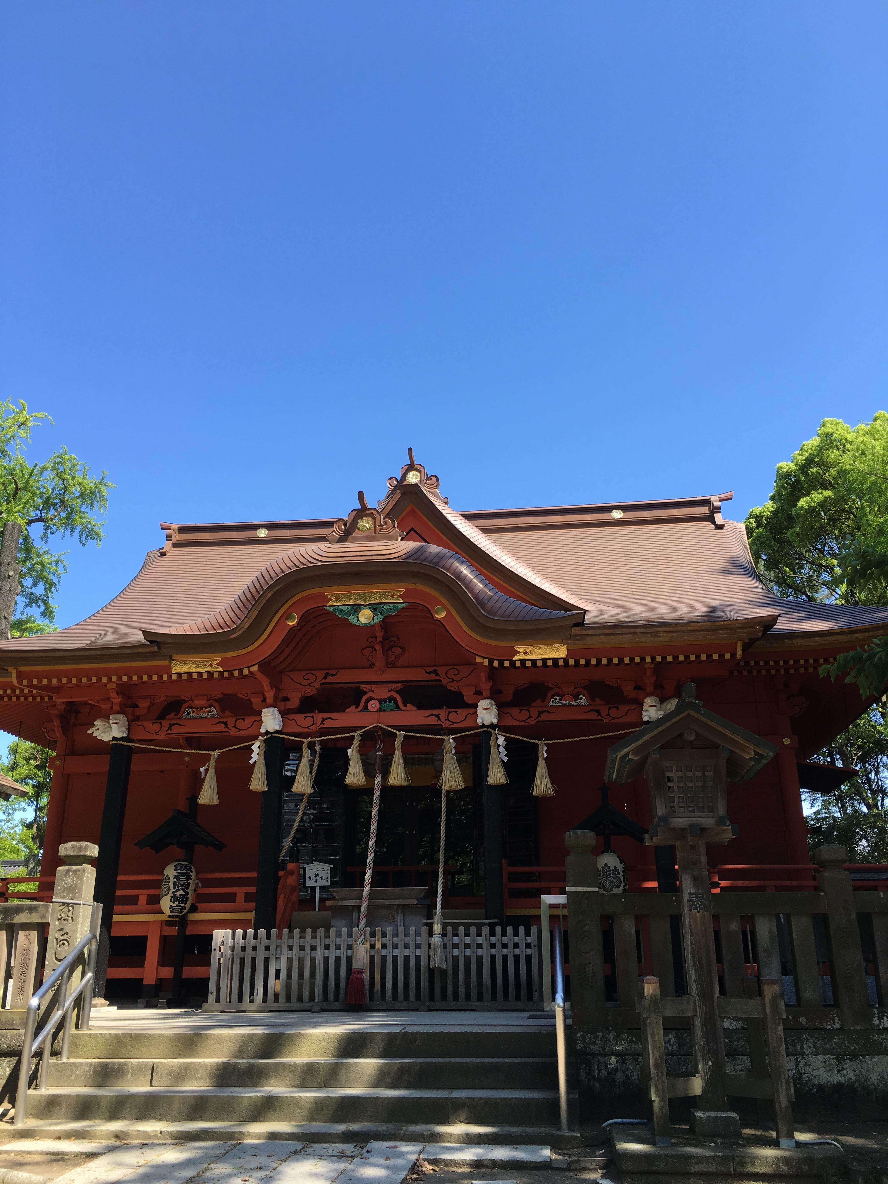 飯香岡八幡宮の建物その他
