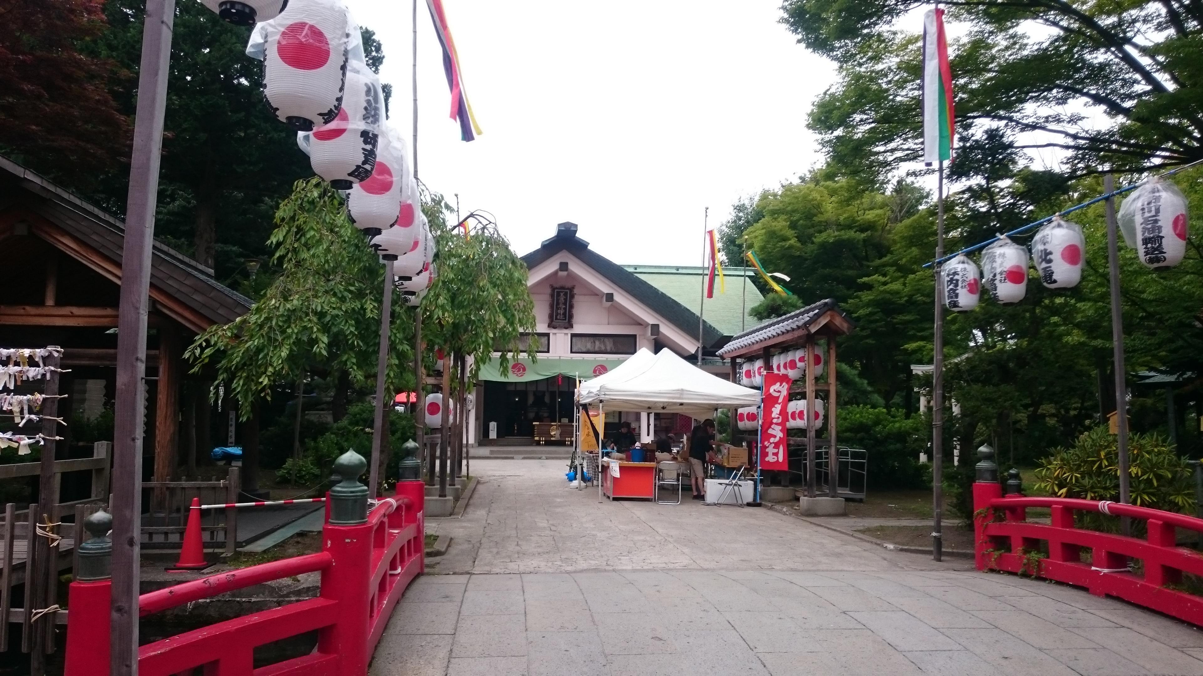 善知鳥神社のお祭り