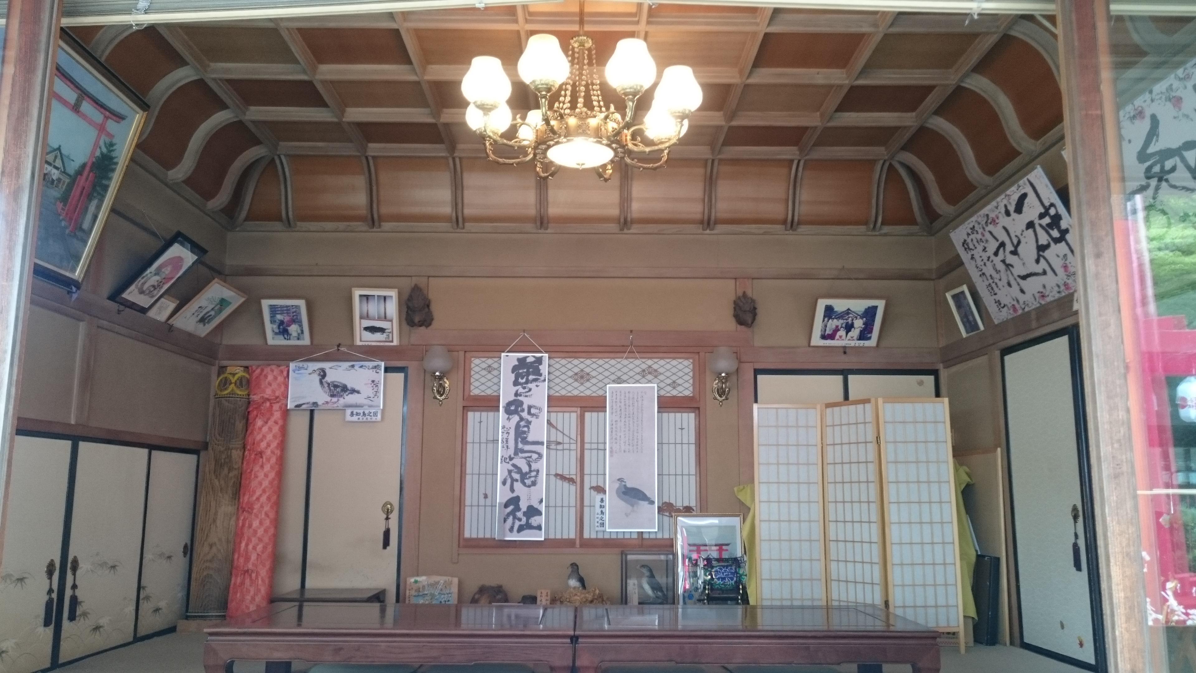 善知鳥神社の建物その他